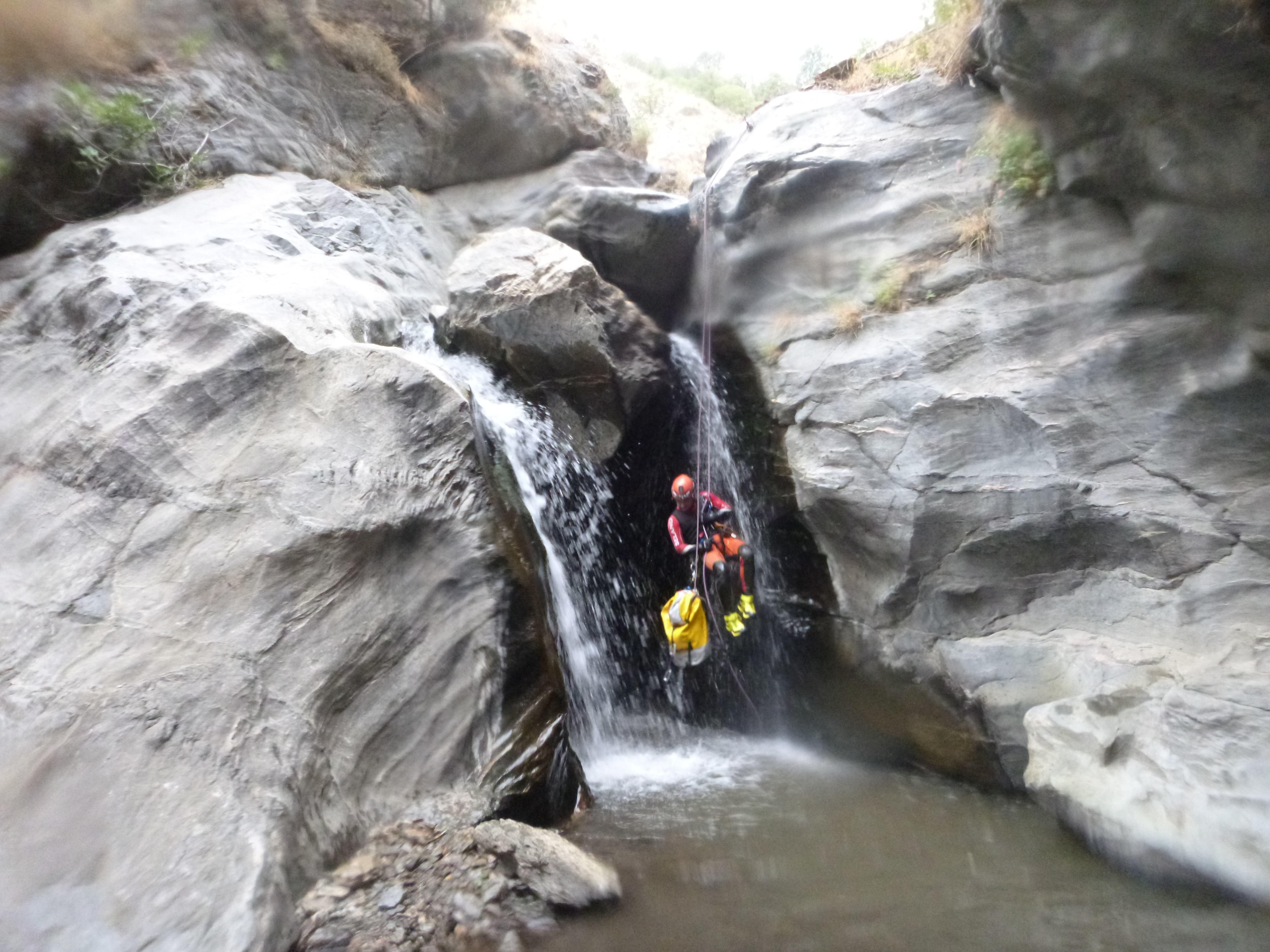 Barranquismo Río Poqueira